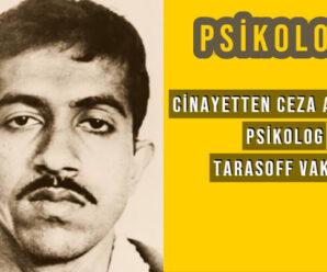 Cinayete Ortak Gösterilen Bir Psikolog | Tarasoff Vakası 9
