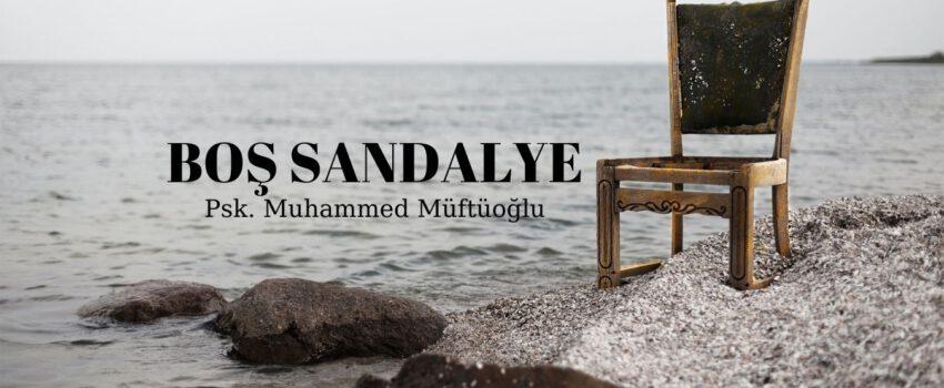 BOŞ SANDALYE 1